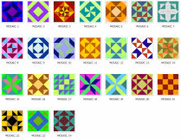 pattern art name of quilt block names arranged alphabetically
