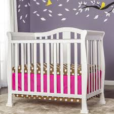 Dream On Me Portable Mini Crib by Babyletto Mini Crib Sale Modern Nursery Bedding Monochrome