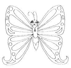 coloring pages butterfly coloring pages monarch side