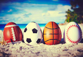 sports easter eggs eggs on stock photo image of outdoor football 51555264