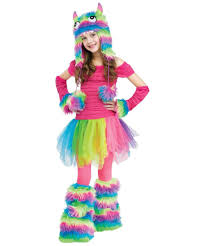 Rainbow Halloween Costume Rockin Rainbow Monster Ballerina Hallowen Costume Girls