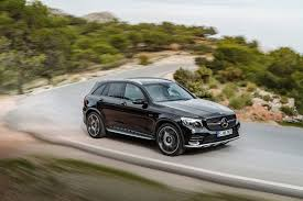 mercedes jeep 2016 mercedes amg glc43 arrives as amg u0027s first midsize suv autoguide