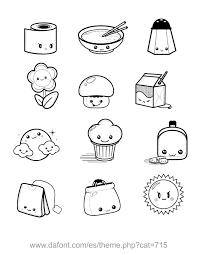 dibujos kawaii para colorear buscar con google dibujo