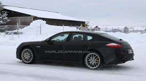 Porsche Panamera Facelift - porsche panamera facelift spied in traffic video
