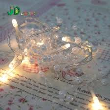 60 meters white fishing line pearl chain string garland