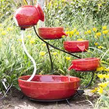 best choice products ceramic solar water fountain garden zen free