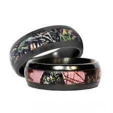 camo wedding band sets his and hers camo wedding rings wedding corners