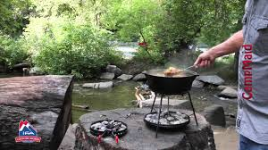 how to use a dutch oven with campmaid solutions tools youtube