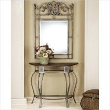 White Foyer Table Console Table And Mirror Set White Entryway Foyer Cute