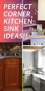 corner kitchen sink base cabinet dimensions 18 amazing corner kitchen sink ideas with spacious concept