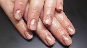 nail art glitter fade gel nail polish youtube