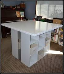Craft Table Desk Building A New Home The Formica Craft Table U2013 Made Everyday