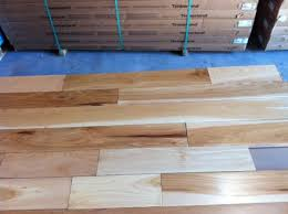 four inch hickory prefinished hardwood flooring in stock discount