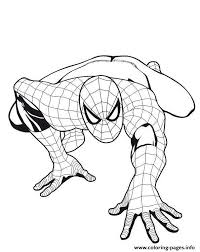 spiderman boys5fe1 coloring pages printable