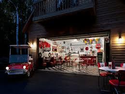 large wall decorating cool garage interiors million dollar