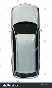 vehicle top view family car top view isolated on stock illustration 339711932