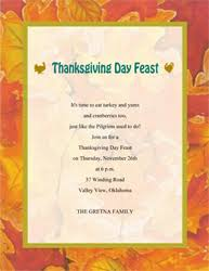 thanksgiving invites template best template collection
