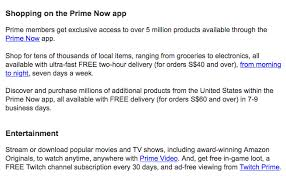 amazon offers prime membership service for free global shipping