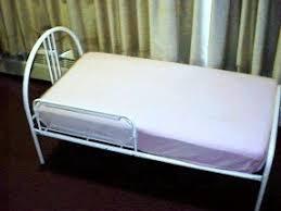 Toddler Bed White Metal Toddler Bed Foter