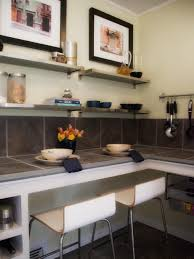 kitchen wall shelving ideas decorating with floating shelves hgtv