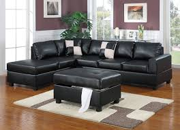 Black Microfiber Sectional Sofa Sofa Gray Sectional Sofa Black Microfiber Sectional Grey