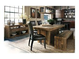 signature design by sommerford large dining room bench