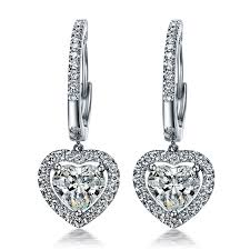 diamonds earrings faultless lovely 1 5ct sona synthetic diamonds earrings for