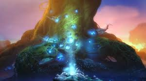 Ori And The Blind Forest Fantasy Art Ori And The Blind Forest Glowing Roots Wallpapers