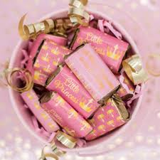 candy bar baby shower pink and gold princess baby shower mini candy bar