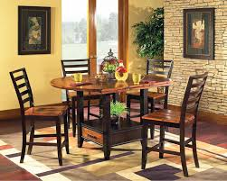 Dining Room Tables With Built In Leaves Abaco 54