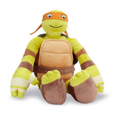 teenage mutant ninja turtles teenage mutant ninja turtles cuddle pillow michelangelo