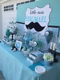 mustache baby shower decorations baby shower decorations blue ba shower ideas best 25