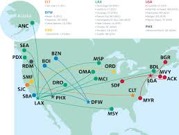 Alaska Airlines Map by American Airlines To Launch 20 Routes In 72 Hours Airways Magazine
