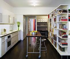 Modern Kitchen For Small Apartment Sterling Apartment Modern Kitchen New York By Leone Design