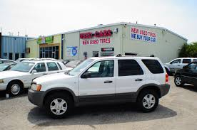 2001 ford escape xlt white 4x4 suv sale