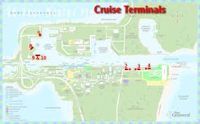 port canaveral map port canaveral usa cruise port of call