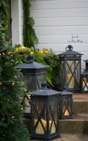 simple u0026 natural front porch decorating french country cottage