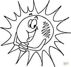 photos sun coloring pages cartoon free printable cartoon