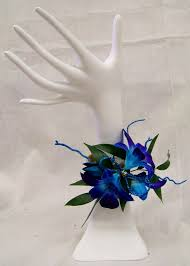 blue corsages for prom prom flowers clark flower gift shop