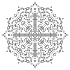coloring pages free printable geometric coloring pages kids