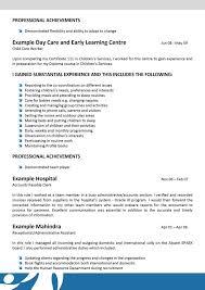 Caregiver Resume Samples by Daycare Resume Examples Day Care Worker Resume Sample Resume For