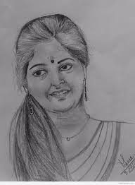 beautiful pencil sketch by meenu mb desipainters com