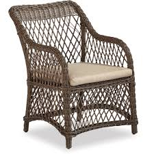 cancun wicker dining chair 2 pieces dining furniture patio
