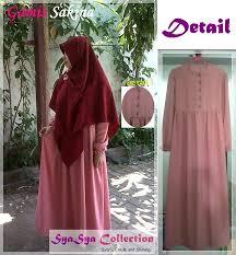 desain baju gamis hamil kecantikan contoh model baju muslim untuk ibu hamil