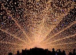 tunnel of lights stunning japan light show boasts 5 8 million