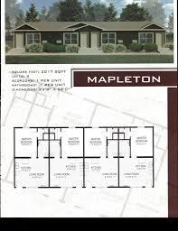 multi family modular floor plan pierce commercial structures