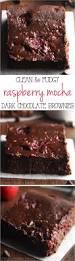 Dark Chocolate Raspberry Brownies by Clean Raspberry Mocha Brownies Amy U0027s Healthy Baking
