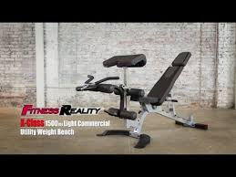 Leg Developer Bench 2862 Fitness Reality X Class 1500lb Weight Bench With Preacher