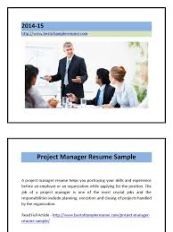 resume examples for project manager project manager resume sample pdf project manager resume