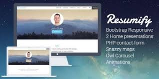 Resume Html Template Resume Web Template With Timeline Html Resume Website Templates